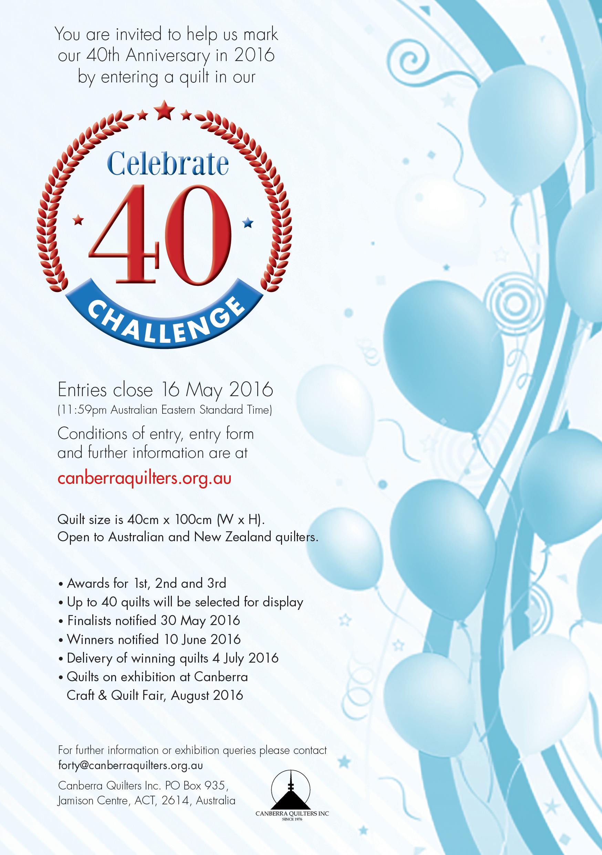 40th challenge quilt flyer_web